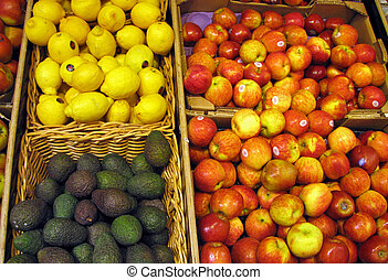 magasin, fruit