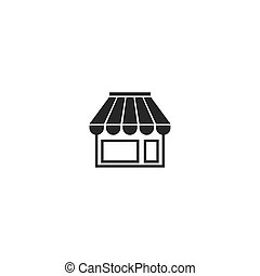 magasin, icône