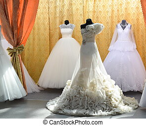magasin, robes, mariage