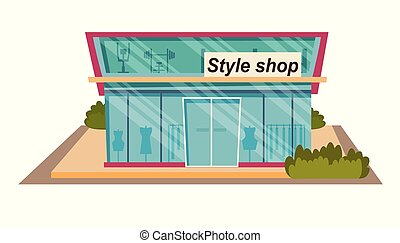 magasin, style, concept, achats, petites amies