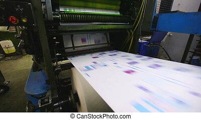 magasin, typographie, machine, production, pf, impression, ligne