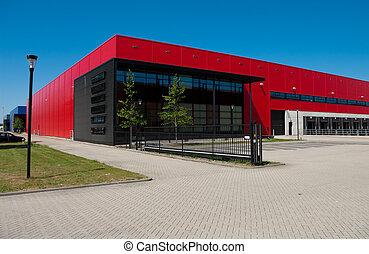 magazijn, industriebedrijven