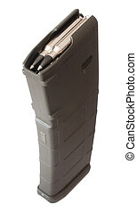Magazine and ammo - Magazine loaded that can hold up to ...
