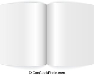 magazine., arkusz kalkulacyjny, czysty