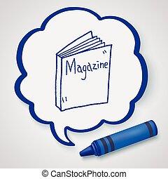 magazine doodle