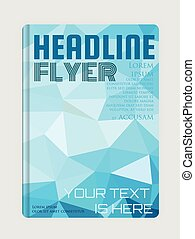 Magazine, flyer, brochure and cover layout design