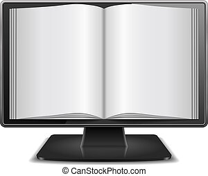 Magazine in Computer Monitor