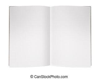 magazine, page, vide