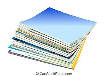 magazine, pile