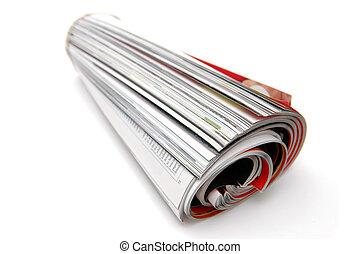 magazine, rouleau