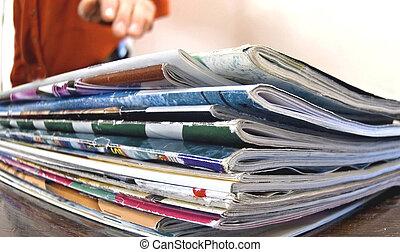 magazine - just grab a mag