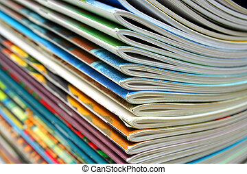 Magazines - A stack of magazines