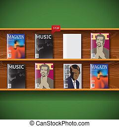 magazines, ligne