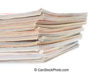 magazyny, stos