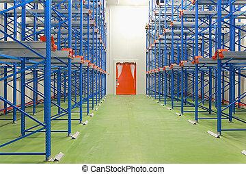 magazzino, congelatore