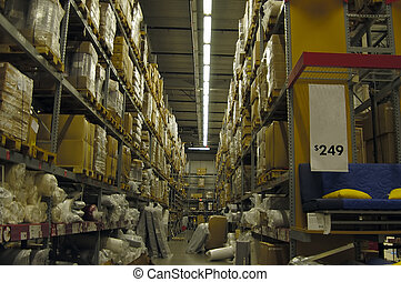 magazzino, interno
