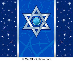 Magen David Holiday design - Star of David (Magen David)...