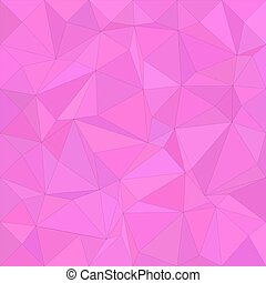 Magenta irregular triangle mosaic background
