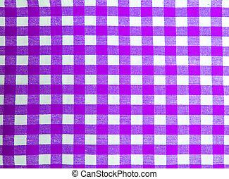 Magenta picnic cloth