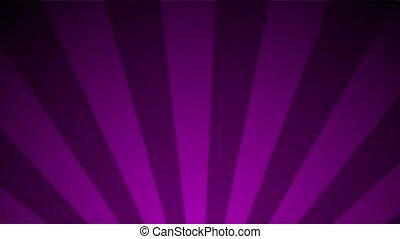 Magenta Purple Radial Loop - Perfectly seamless loop...