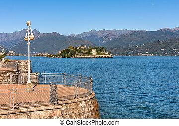 maggiore, italia,  Isola,  bella, lago