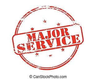 maggiore, servizio
