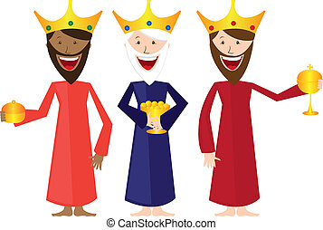 magi cartoon isolated over white background. vector