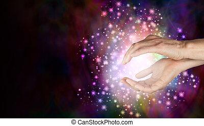 magi, detetar, sobrenatural, energia