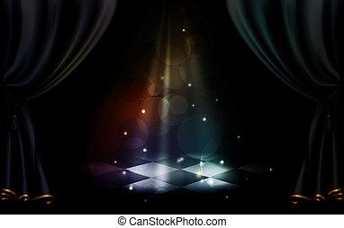 magia, 10eps, palcoscenico