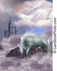 magia, caballo