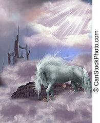 magia, cavalo