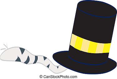 magia, chapéu