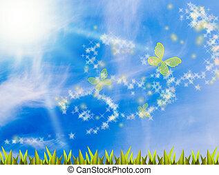 magia, día de verano