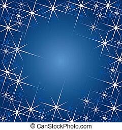 magia, estrellas, (vector)