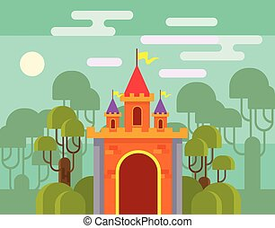 magia, fantasia, castelo