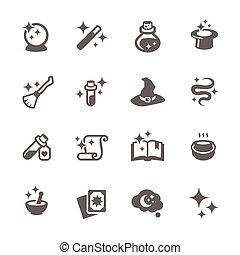 magia, icone