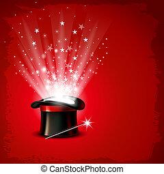 magia, kapelusz