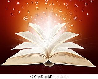 magia, livro