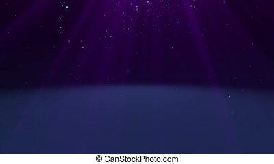 magia, partícula, em, espaço