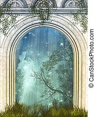 magia, puerta