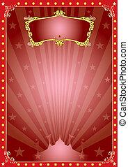 magia, stella, circo