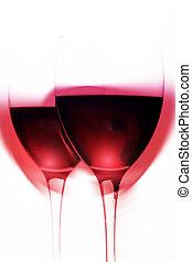 magia, vinho tinto