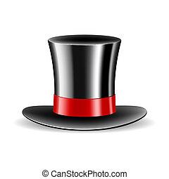magia, walec, kapelusz