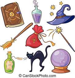 Magic and Fairy Tale Vector