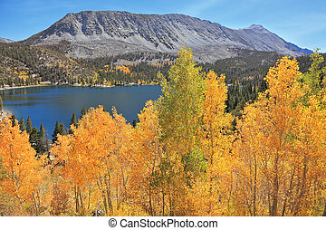 Magic beauty blue lake