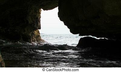 Magic Black Sea Coast Of Cape Tarkhankut in Crimea