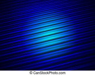 magic blue light on glass tube heap, solar panel details