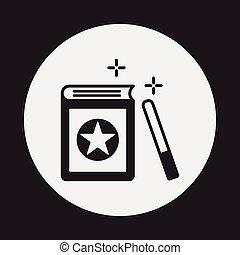 magic book icon