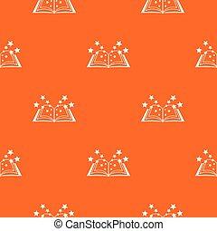 Magic book pattern seamless