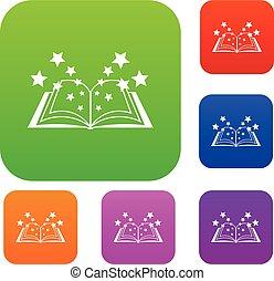 Magic book set collection